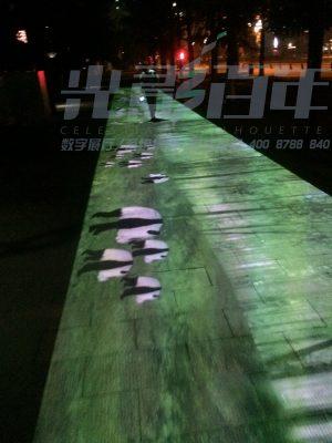 『 都江堰 』40米奇幻的通道—地面互动