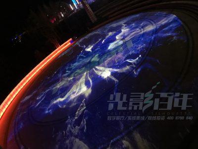 世界最大单体射电望远镜,银河系广场裸眼3D建筑投影项目完美收官!
