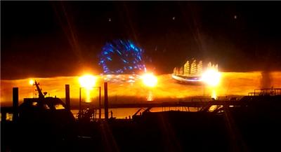 博鳌水幕投影灯光秀