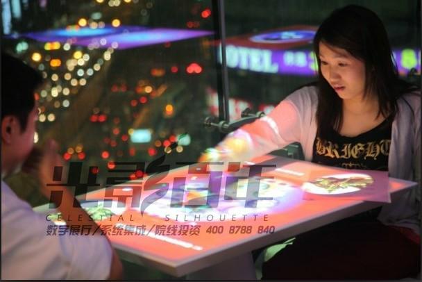 互动桌面投影系统