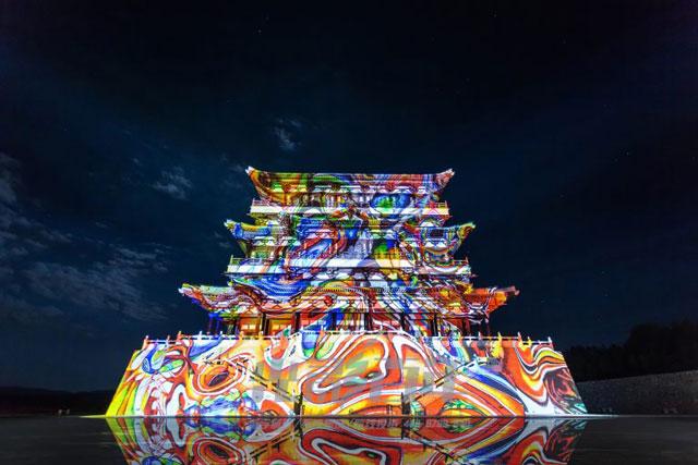光影百年建筑投影案例