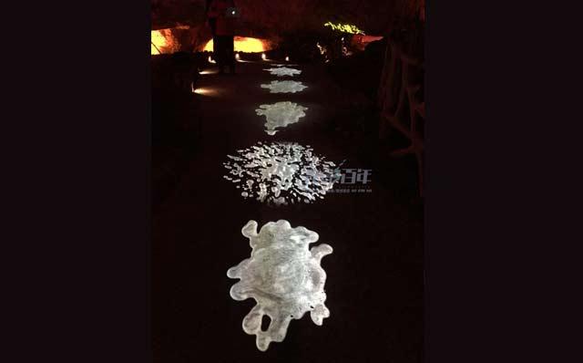 光影百年地面互动投影案例-贵州万山矿山公园
