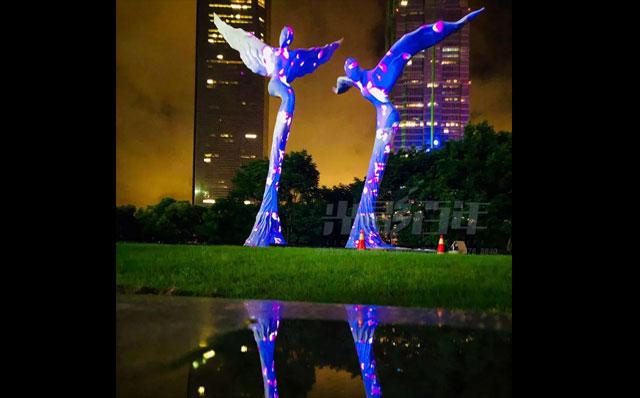 光影百年建筑投影案例--回响绿洲