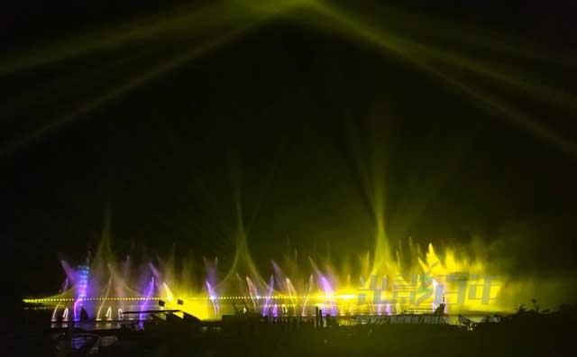 博鳌水秀投影案例