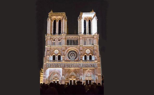 3D建筑投影